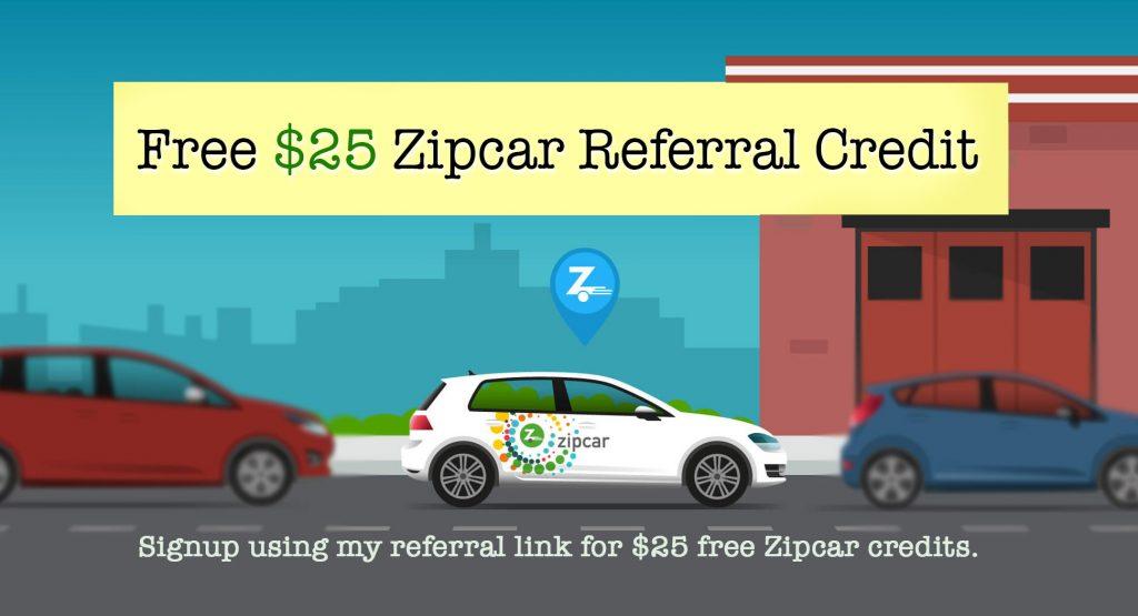 25 Zipcar Referral Bonus Use My Referral For Free 25 Zipcar Credits
