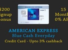 American Express Blue Cash Everyday referral - get $200 signup bonus