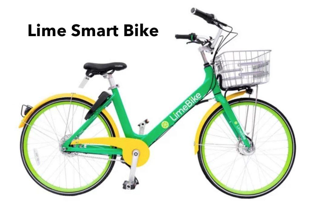 Lime pedal bike