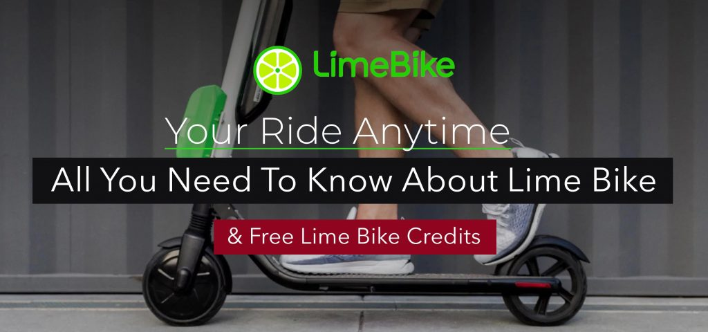 Lime Bike Promo Code: Get Free $3 Credits To Use On Any Lime