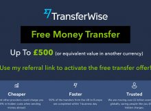 Transferwise free transfer offer